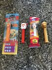 Chicken Little - Santa - CP3O - Princess Lea PEZ Dispensers lot Of 4 Two Loose