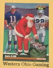 Santa Claus Surprises in 2013 Topps Strata Football 17
