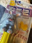 EASTER Pez Dispenser GREY BUNNY - 1 Out Of 4 In A Limited Series