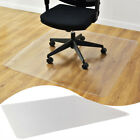 PVC Plastic Hard Wood Floor Mat Protector For Office Rolling Chair Computer Desk