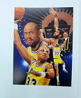 KAREEM ABDUL JABBAR AUTOGRAPHED LIMITED EDITION LA LAKERS LITHOGRAPH DANNY DAY