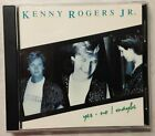 KENNY ROGERS JR - Yes No Maybe - CD 1989 TALIA bright side LOVE IS EASY signals