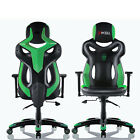 Office Chair Racing Gaming Chair Adjustable Pu Leather High-back Video Chair
