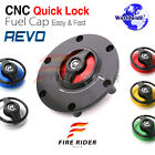 REVO Keyless Quick Lock Gas Tank Fuel Cap For Benelli TNT 1130 Café Racer 07-16