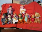 Disney's Winnie The Pooh and Friends Beanies Lot of 9