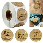 500Pcs Round Thank You For Supporting Handmade Food Gift Craft Labels Stickers