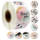 1 roll 500pcs 1 Thank You Stickers Round Love Labels Wedding Gifts Arts Craft