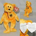 PRINZ VON GOLD GERMANY EXCLUSIVE BEAR! Ty Beanie Baby MWMT TAG PROTECTED INDIANA