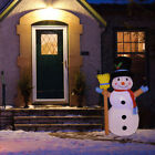 4 Inflatable Christmas Snowman Airblown w LED Light Outdoor Yard Decorations