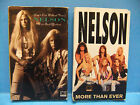 Nelson Cassette Tape Single LOT Love And Affection & More Than Ever Geffen 1990