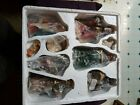 Holiday Home Accent 9 Piece Hand Painted Porcelain Nativity Scene Set Christmas
