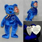 UNITY EUROPE EXCLUSIVE BEAR! Ty Beanie Baby MINT WITH MINT TAGS MWMT INDIANA