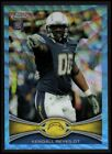2012 Topps Chrome Football Blue Wave Refractor Checklist and Guide 14