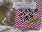 P!NK ‎– Dear Mr President / Leave Me Alone (I'm Lonely) Promo CD Single