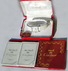 Cartier Tank Solo 6057002 Ladies Small model, silver 925 leather Silber