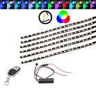 6Pcs RGB Light Strips Fairing Body Frame 290mm For Husaberg FS570