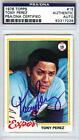 Tony Perez Cards, Rookie Card and Autographed Memorabilia Guide 43