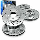 For 1991-2001 BMW 850i,850Ci,740i,740iL R1 Concepts Front Rear  Brake Rotors