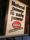 Old Amoco Gas Natural Power Is Safe Power Advertising Poster 2