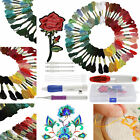 Magic DIY Embroidery Pen Knitting Sewing Tool Kit Punch Needle Set+50 Thread New