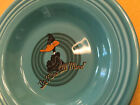 FIESTA LOONEY TUNES TURQUOISE DAFFY DUCK 9 Inch DINNER Bowl Warner Brothers