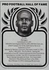 TY LAW 2019 Football Hall of Fame Metallic Metal Card New England Patriots NM-MT