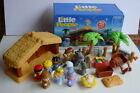 Fisher Price Little People DELUXE CHRISTMAS STORY Nativity Set COMPLETE WORKS +
