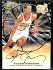 ALLEN IVERSON 99-00 Topps Tip-off ON-CARD AUTO AUTOGRAPH SSP ! VERY RARE !
