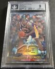 1997-98 SHAQUILLE O'NEAL TOPPS CHROME TOP 40 REFRACTOR #T30 BGS 9 POP 7 (342)