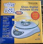 Taylor The Biggest Loser Glass Digital Scale 66lb Capacity May Need New Battery