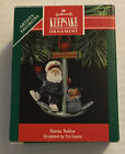 "Vintage 1991 Hallmark Keepsake ""Santa Sailor"" Anchor Christmas Ornament NEW"