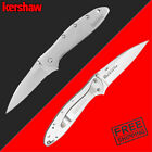 Kershaw Leek Pocket Knife 3 inch Blade Ken Onion Plain Great EDC Folding Knives
