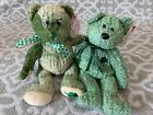 TY Beanie Babies: SHAMROCK & McWOOLY the St. Patrick's Bears! MWMT!