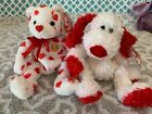 Ty Beanie Babies Of The Month Exclusives: ADONIS the Dog & HEARTTHROB Bear! MWMT