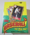 1987 Topps Wax Box -- Possible PSA 10's of Bonds, Bo Jackson, McGwire, Canseco