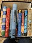 Lot Of Novels 10 Anne Tyler Patterson Axler Sci Fi Fantasy Mystery First Edition