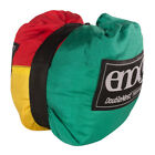 ENO Doublenest 2 Person Lightweight Nylon Camp Hammock Green Red Yellow Hiking
