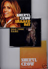 SHERYL CROW 3 x UK promo CD singles Sign Your Name/Summer Day/Peaceful Feeling