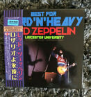 LED ZEPPELIN EMPRESS VALLEY BEST FOR HARD AND HEAVY 3 CD BOXED SET LEICESTER UK