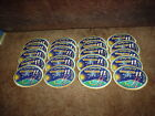 LOT OF 20 INTERNATIONAL SPACE STATION EXPEDITION 11 EMBROIDERED PATCHES NEW