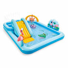 Intex 96 x 78 x 28 Inflatable Jungle Adventure Play Center Spray Kiddie Pool