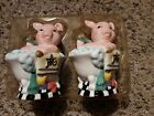Pig Salt And Pepper Shakers Pigs In A Tub Bathing Pigs