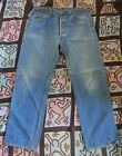 70s 80s Vintage LEVIS 501xx Hige Fade Denim Jeans 34 x 28 Made In USA 501