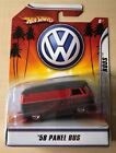 1958 Volkswagen VW Panel Bus 1 50 Red Hot Wheels Rat Rods New