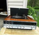 1969 Panasonic SG 999 AM FM Stereo Hideaway Turntable Tested Working 19x16x7