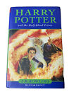Harry Potter and the Half Blood Prince 1st Edition Hardback With Error HH2