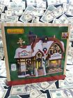 ☃️Lemax Porcelain Lighted Building Christmas Village Devaney's Bakery in Box