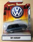 1969 Volkswagen VW Variant 1 50 Blue Hot Wheels Rat Rods New