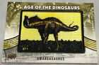2015 Upper Deck Dinosaurs Trading Cards 2