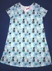 FRESH PRODUCE Small Bluefin BLUE Pineapple Stand Tee Shirt Dress 59 NWT New S